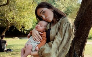 "Bárbara Bandeira quis mostrar o seu jeito para bebés aos fãs, mas a falta dele acabou por deixar Angie Costa ""stressada"""