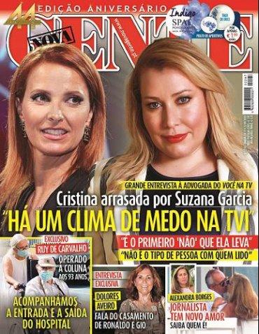 Cristina arrasada por Suzana Garcia