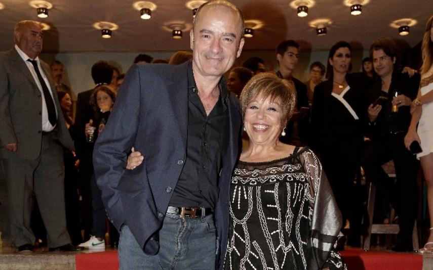 Maria Vieira com o marido, Fernando Rocha