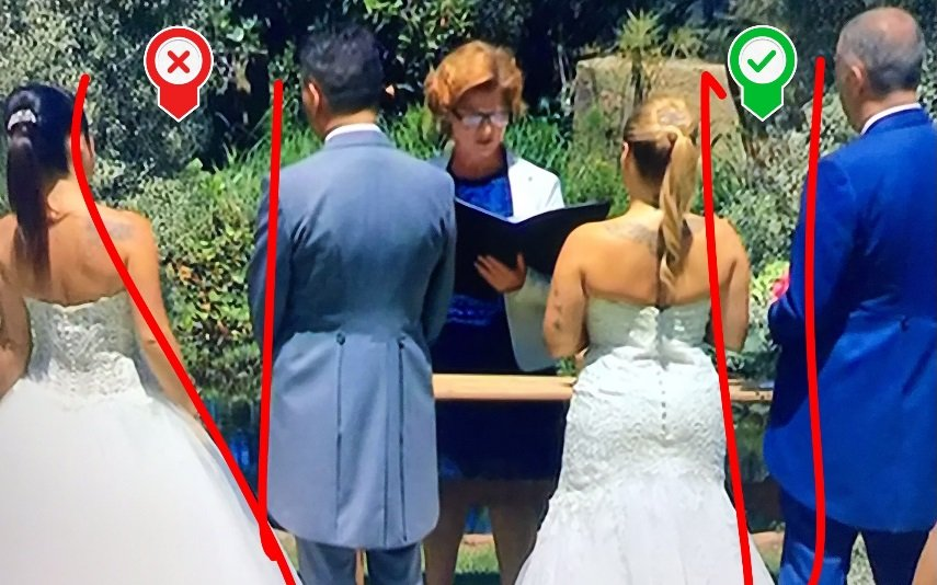 O casamento das irmãs Ana Raquel e Inês