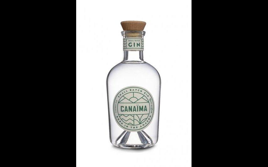 Gin premium Canaïma. Utiliza plantas da região amazónica, e promete investir 10% das suas vendas no apoio a fundações locais. 39 euros.