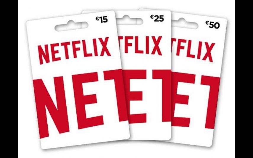 Cartão da Netflix, 50 euros