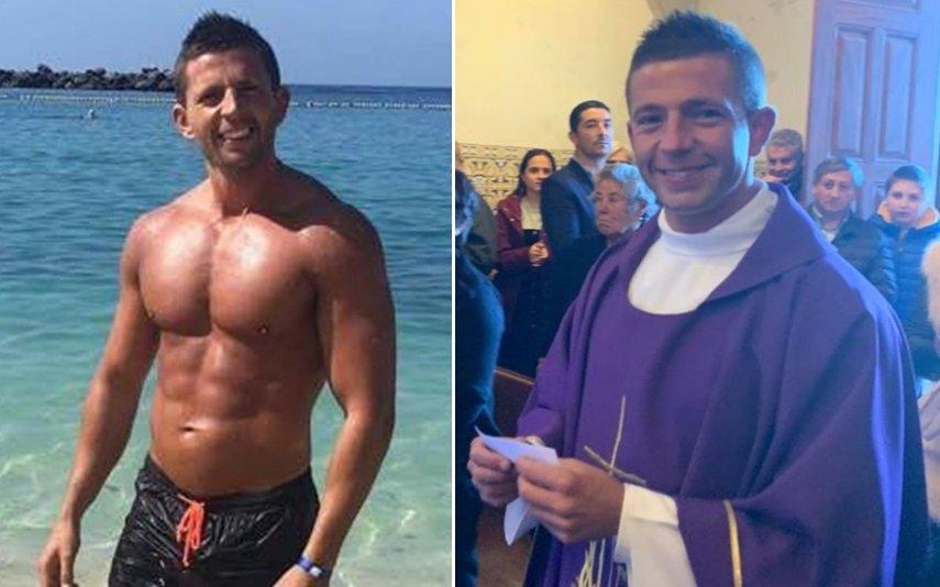O «padre sexy» Ricardo Esteves