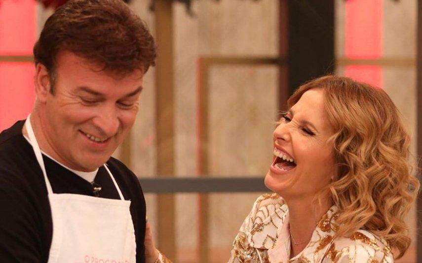 Tony Carreira e Cristina Ferreira