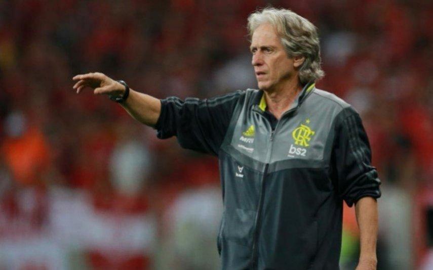 Jorge Jesus é o treinador do Flamengo