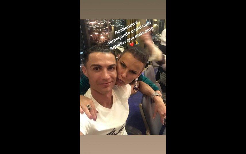 Cristiano Ronaldo e Elma Aveiro