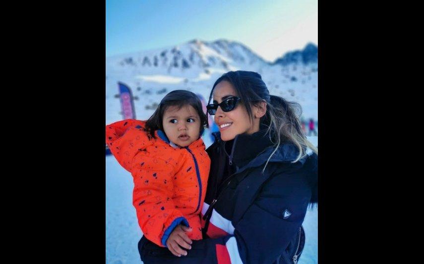Carolina Patrocínio e a filha Carolina