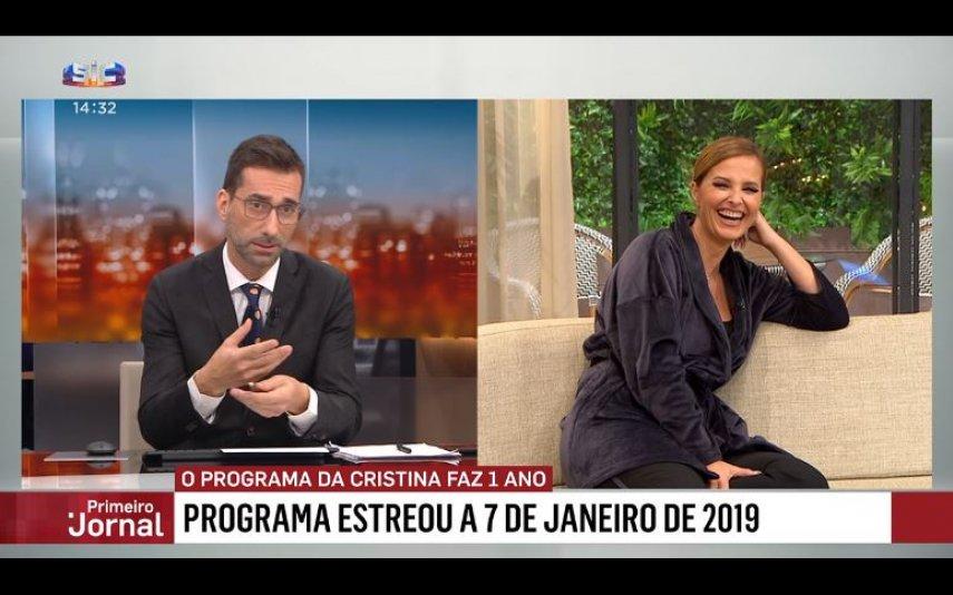 Bento Rodrigues com gravata com a cara de Cristina