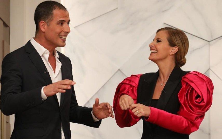 Ricardo Araújo Pereira e Cristina Ferreira