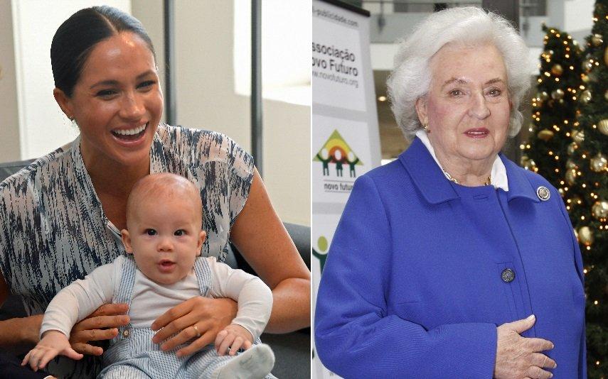 Meghan Markle, Archie e a infanta Pilar de Borbón