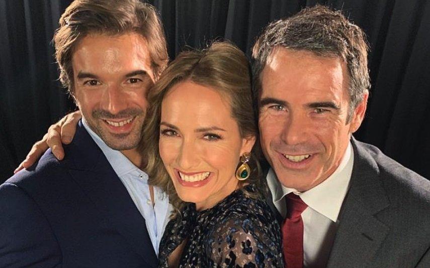 Graciano Dias, Fernanda Serrano e Pedro Lima