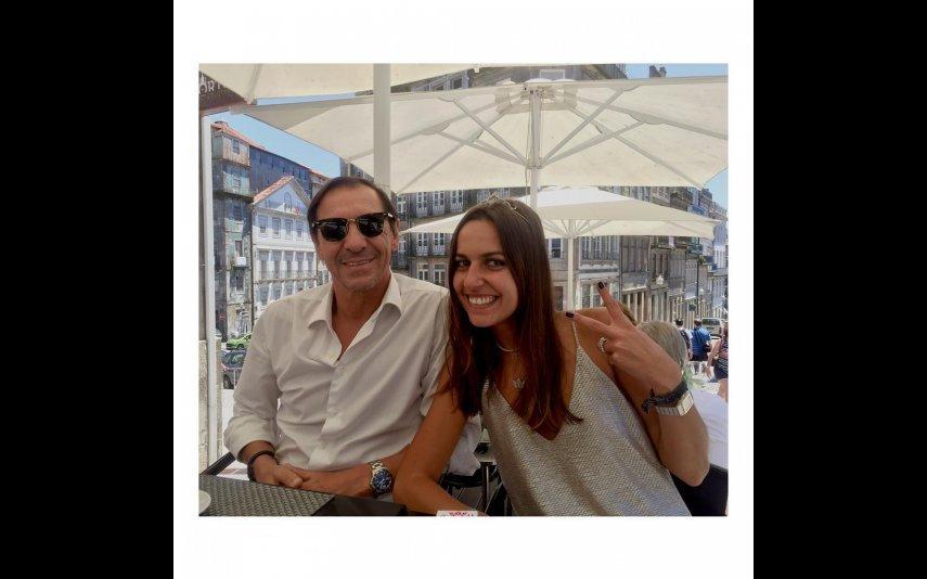 Fernando e filha