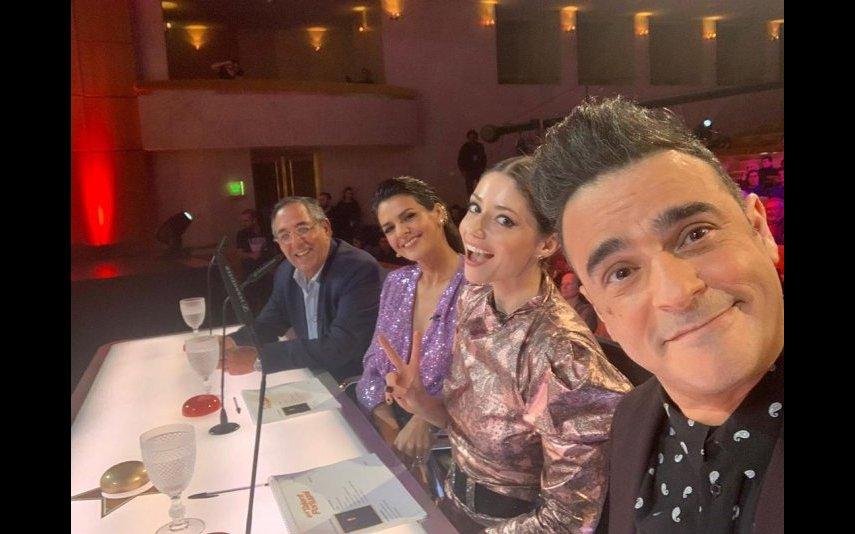 Os jurados do Got Talent Portugal com Sofia Escobar