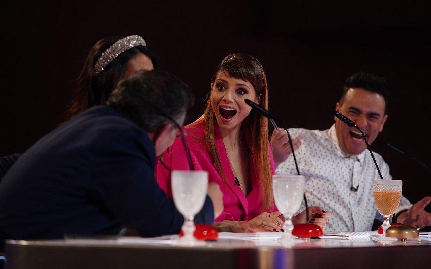 Sofia Escobar durante o Got Talent Portugal