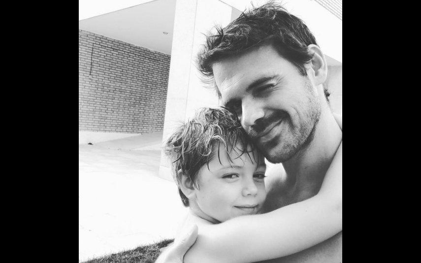 O marido e o filho de Sofia Escobar