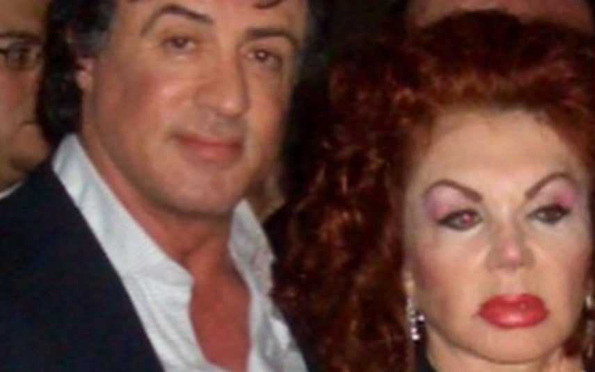 Sylvester Stallone e Jackie Stallone