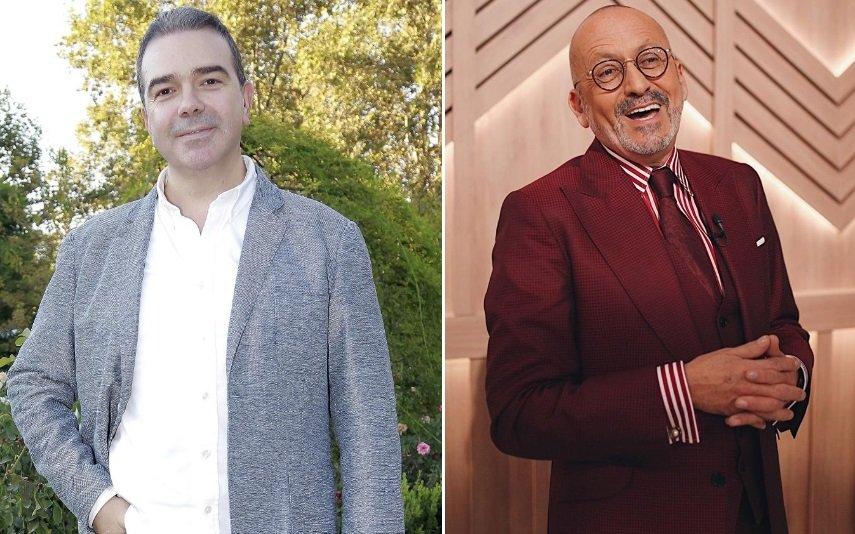 Nuno Santos e Manuel Luís Goucha