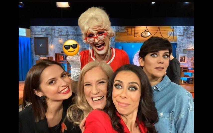 Teresa Guilherme no 5 para a Meia-Noite com Vera Kolodzig, Filomena Cautela e Inês Gonçalves