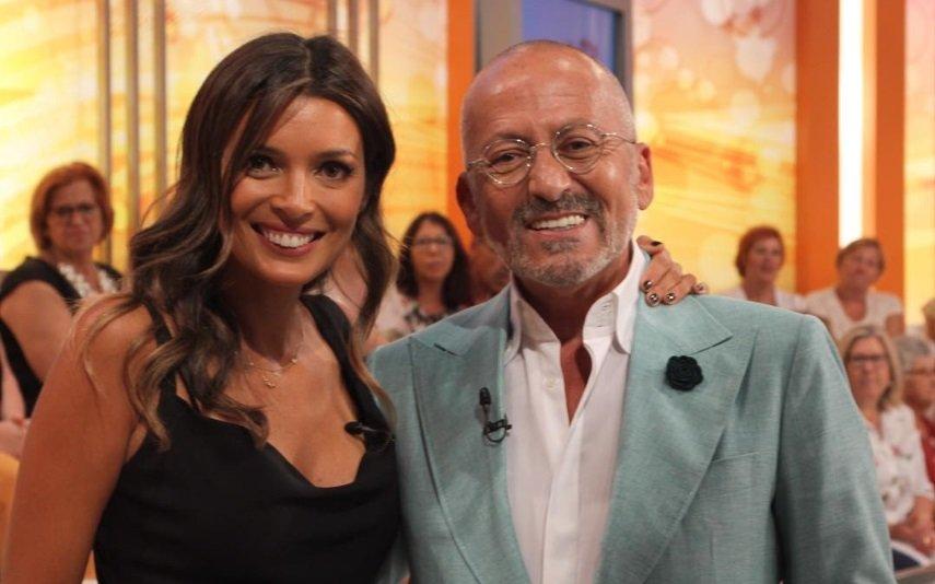 Maria Cerqueira Gomes e Manuel Luís Goucha