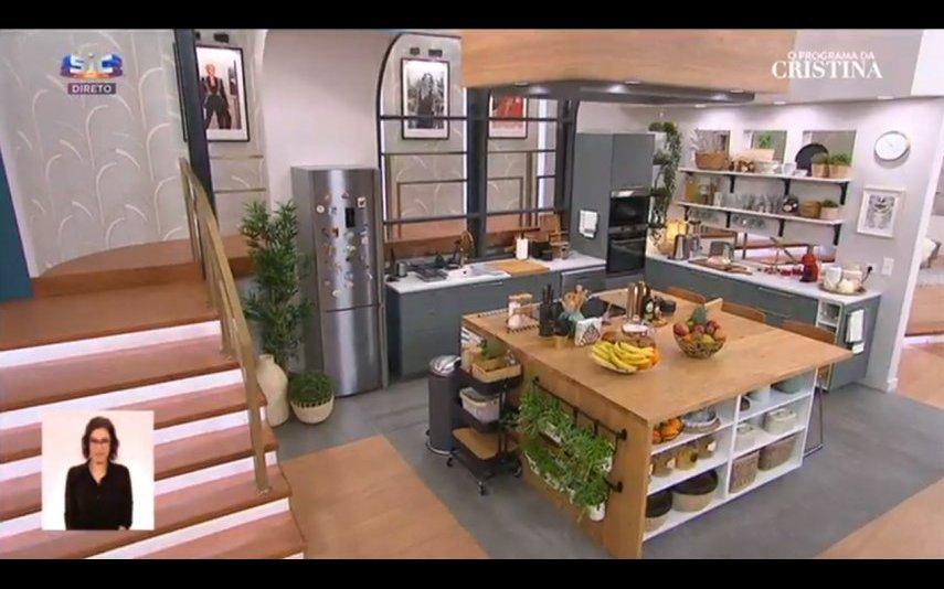 A nova cozinha