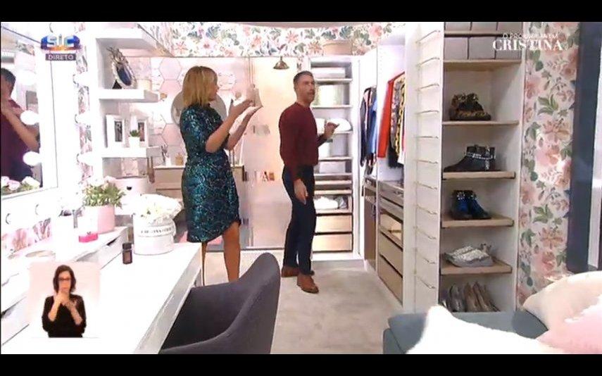 O novo closet