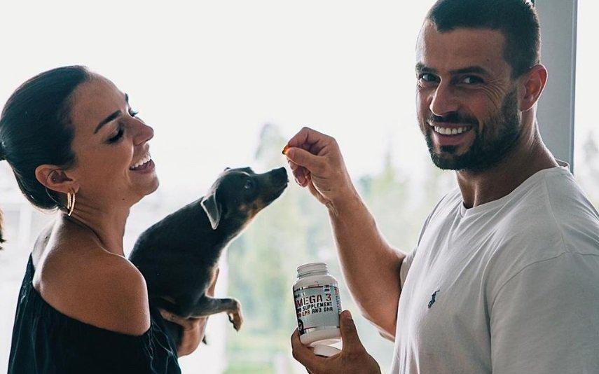 Vanessa Martins e Marco Costa e Sadik