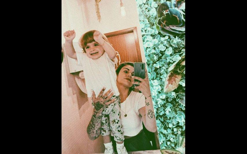 Fanny com Diego
