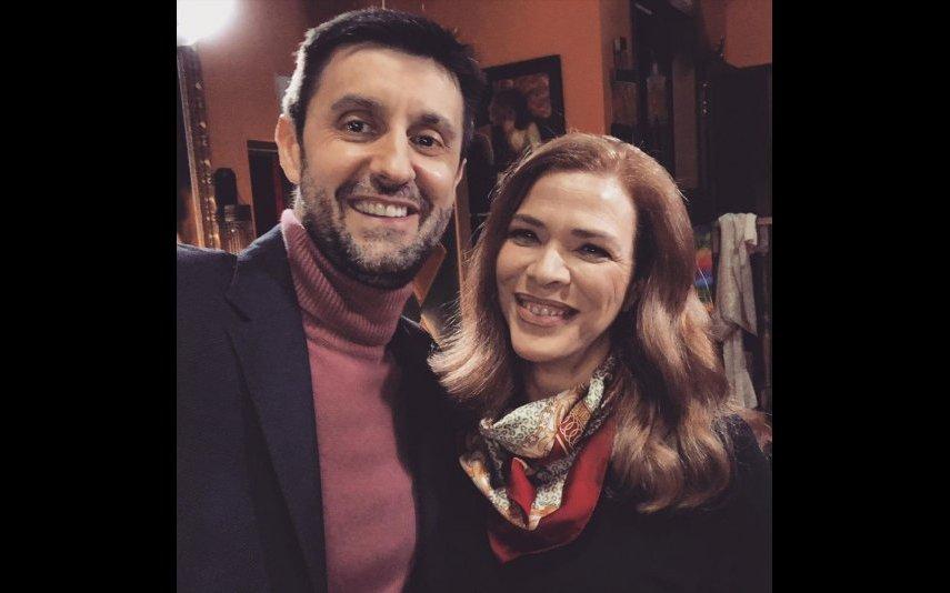 Daniel Oliveira e Rita Loureiro