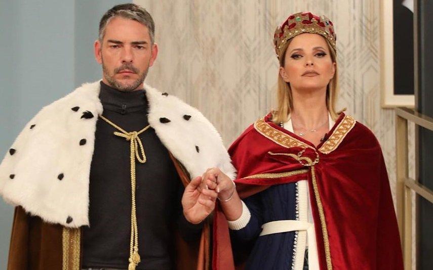 Cláudio Ramos e Cristina Ferreira