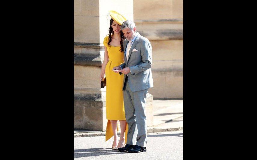 George Clooney e Amal