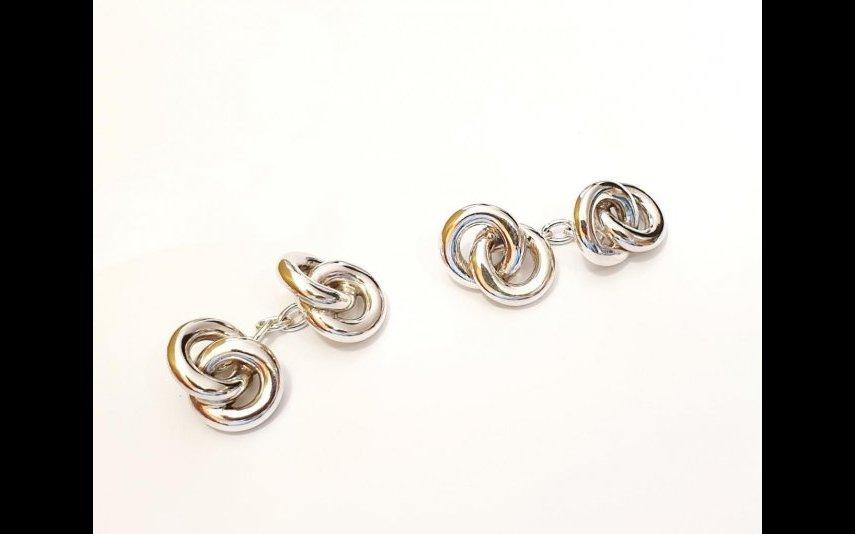Botões de Punho Infinito Prata, Simão Jewelry & Maison Simão, 140 euros