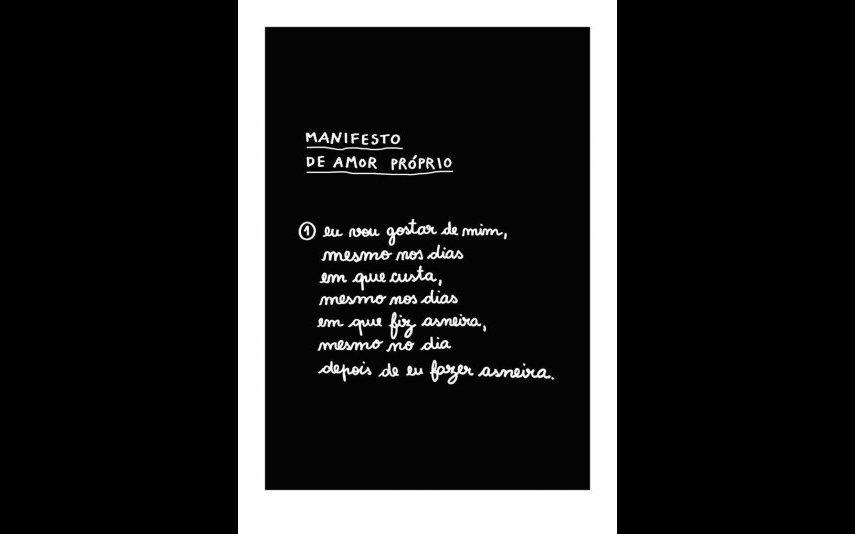 Manifesto de Amor Próprio, Clara Não, 15 euros