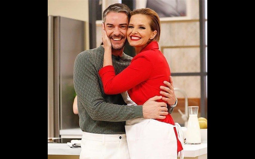 Cláudio Ramos com Cristina Ferreira