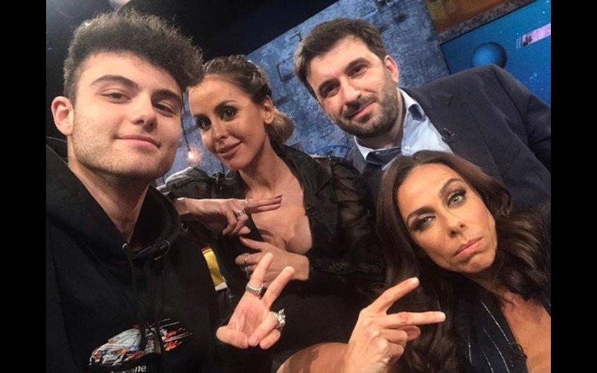Carolina Patrocínio com Filomena Cautela, Windoh e Tiago Brandão Rodrigues