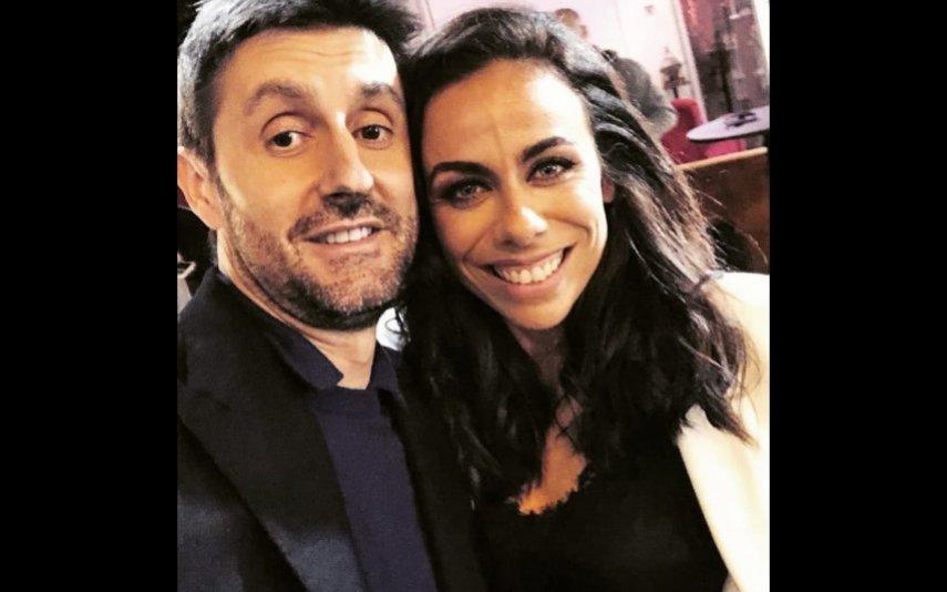 Filomena Cautela com Daniel Oliveira