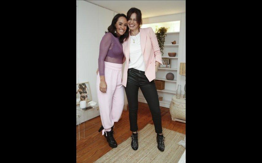 Francisca Pereira e Cláudia Vieira
