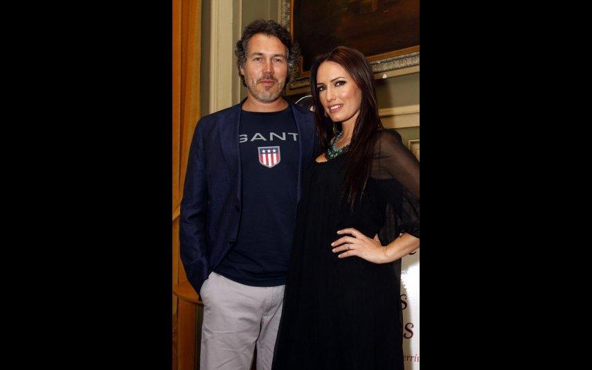 Fernanda Serrano com o ex-marido Pedro Miguel Ramos