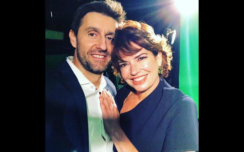 Bárbara Guimarães com Daniel Oliveira