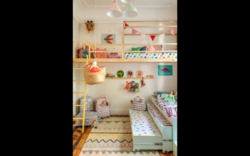 Ideias para quartos de irmãos