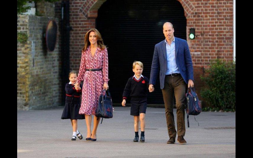 Kate Middleton, Príncipe William e os filhos mais velhos