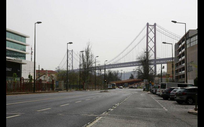 Avenida 24 de Julho, em Lisboa