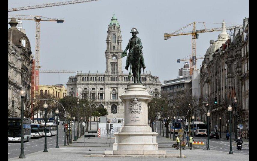 Praça da Liberdade e Avenida dos Aliados
