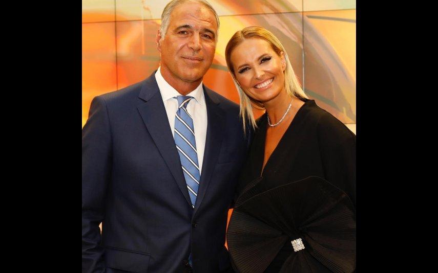 Rodrigo Guedes de Carvalho e Cristina Ferreira