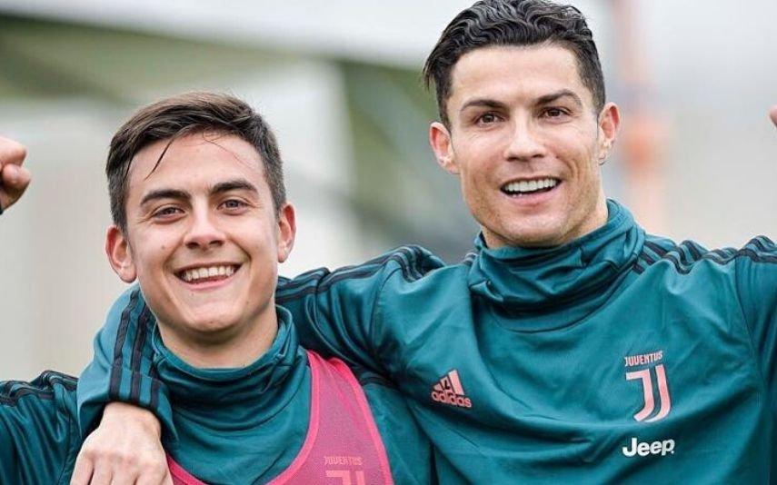 Paulo Dybala e Cristiano Ronaldo