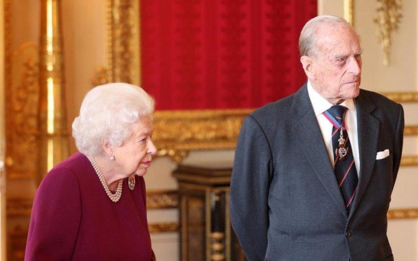 Rainha Isabel II e príncipe Filipe