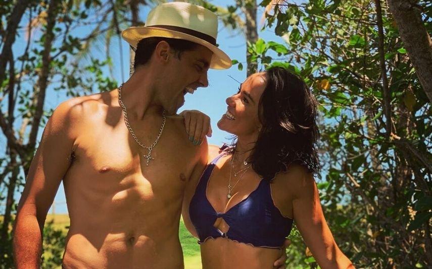Ricardo Pereira e a mulher, Francisca