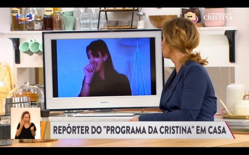 Cristina Ferreira à conversa com Sofia Vasconcelos