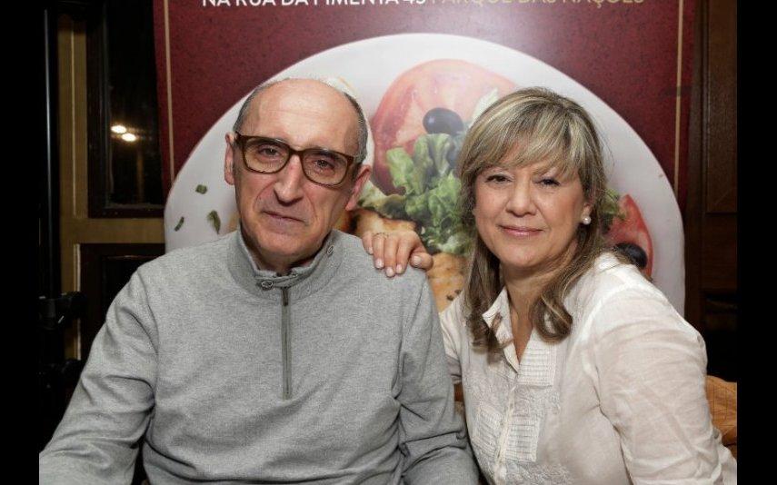 António Cordeiro e Helena Almeida
