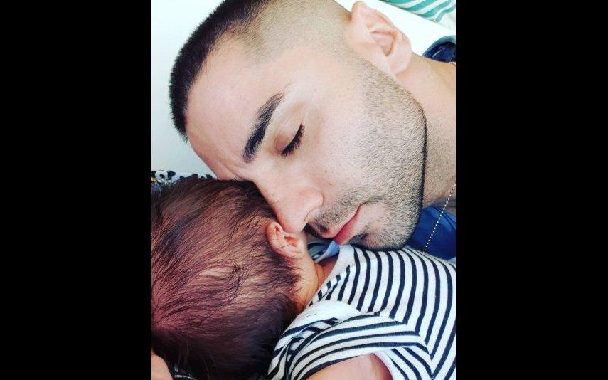 Leandro e o filho mais novo