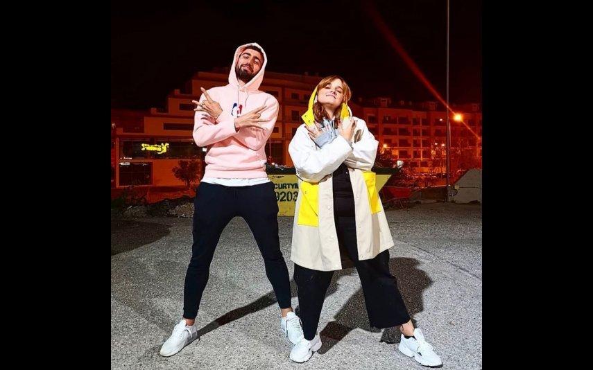 Bruno Fernandes e Carolina Deslandes